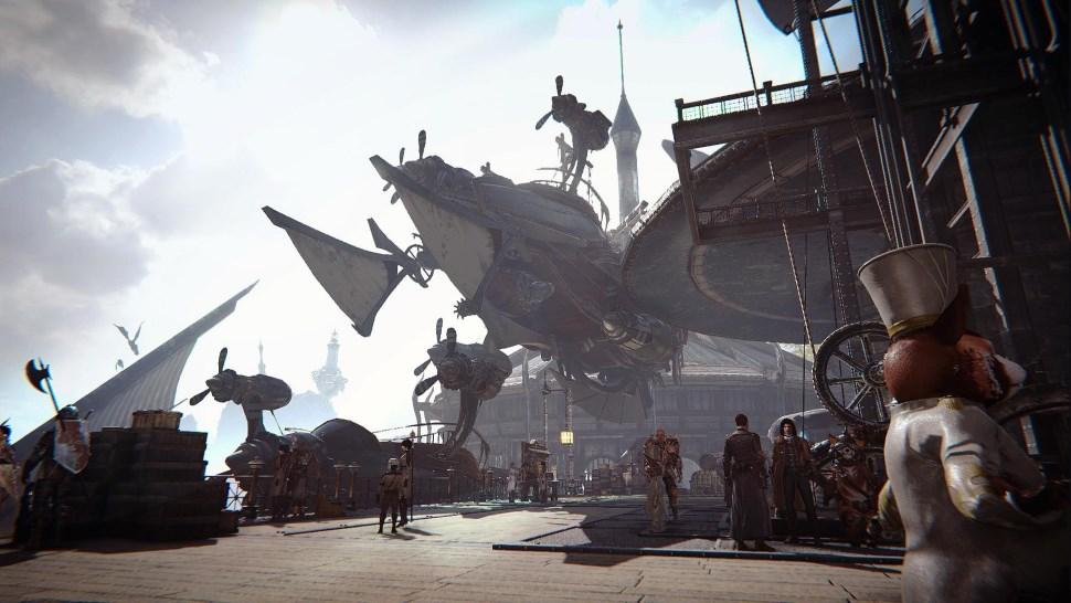 Zerstört Dinge mit Euren Luftschiffen im neuen MMORPG AI:R