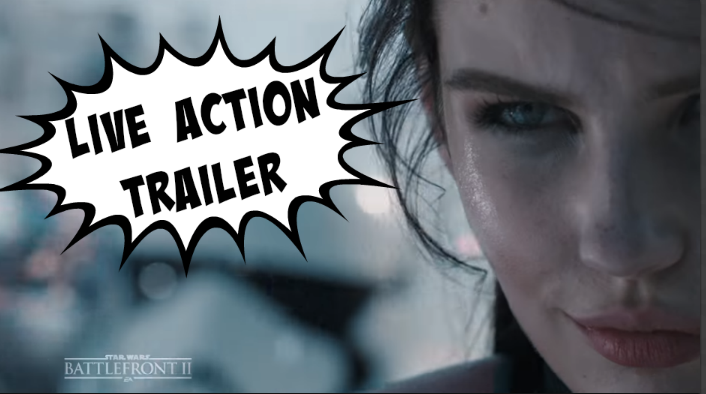 Trotz Kontroversen um Star Wars Battlefront 2: Der Live Action Trailer ist machtvoll!