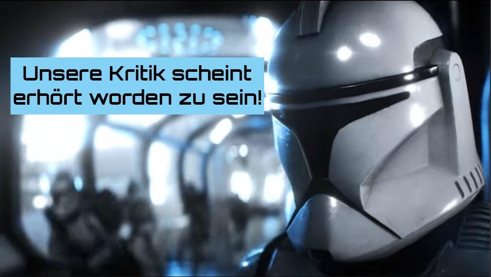 """""""Die Magie liegt in der Balance"""" – Star Wars Battlefront 2 ändert Lootboxen"""