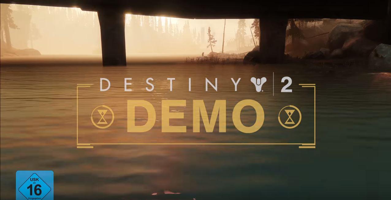 Destiny 2 Als Kostenlose Demo Free Trial Startet Auf Ps4 Xbox