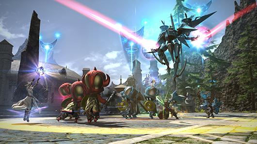 Bei Final Fantasy XIV gibt's jetzt ein MOBA innerhalb des MMORPG