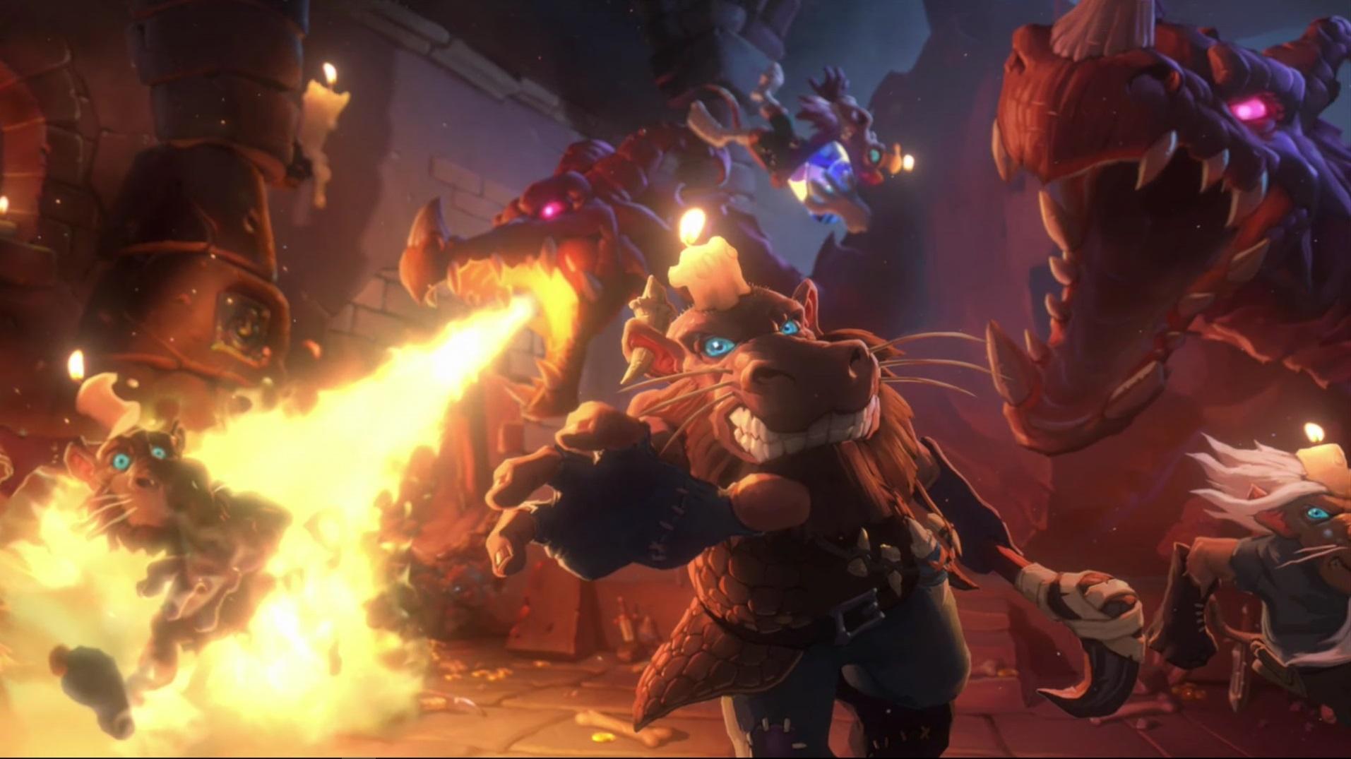"Hearthstone: Erweiterung ""Kobolds and Catacombs"" bringt 48 neue Singleplayer-Bosse!"