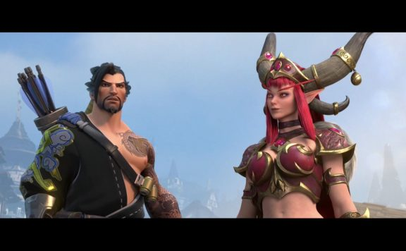Heroes of the Storm Blizzcon Hanzo and Alexstrasza