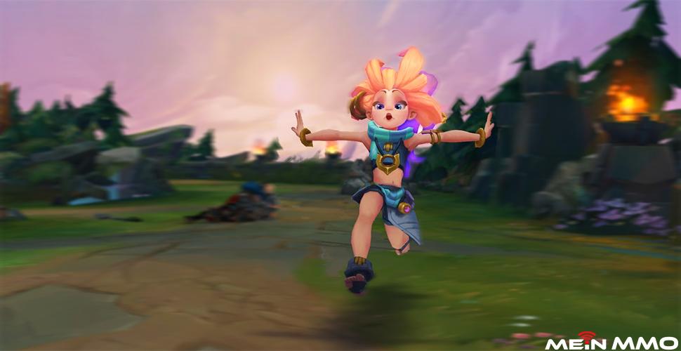 LoL: Zoe ist der neue Champion und klaut Zauber von anderen Champs