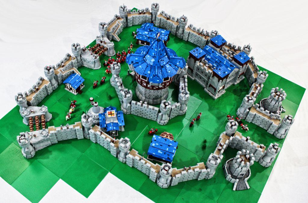 Jemand hat Theramore aus WoW mit 55.000 LEGO erbaut