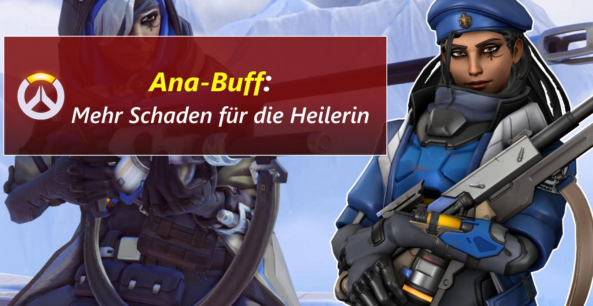 Overwatch: Neuer Mercy-Nerf, dafür mehr Ana-Schaden