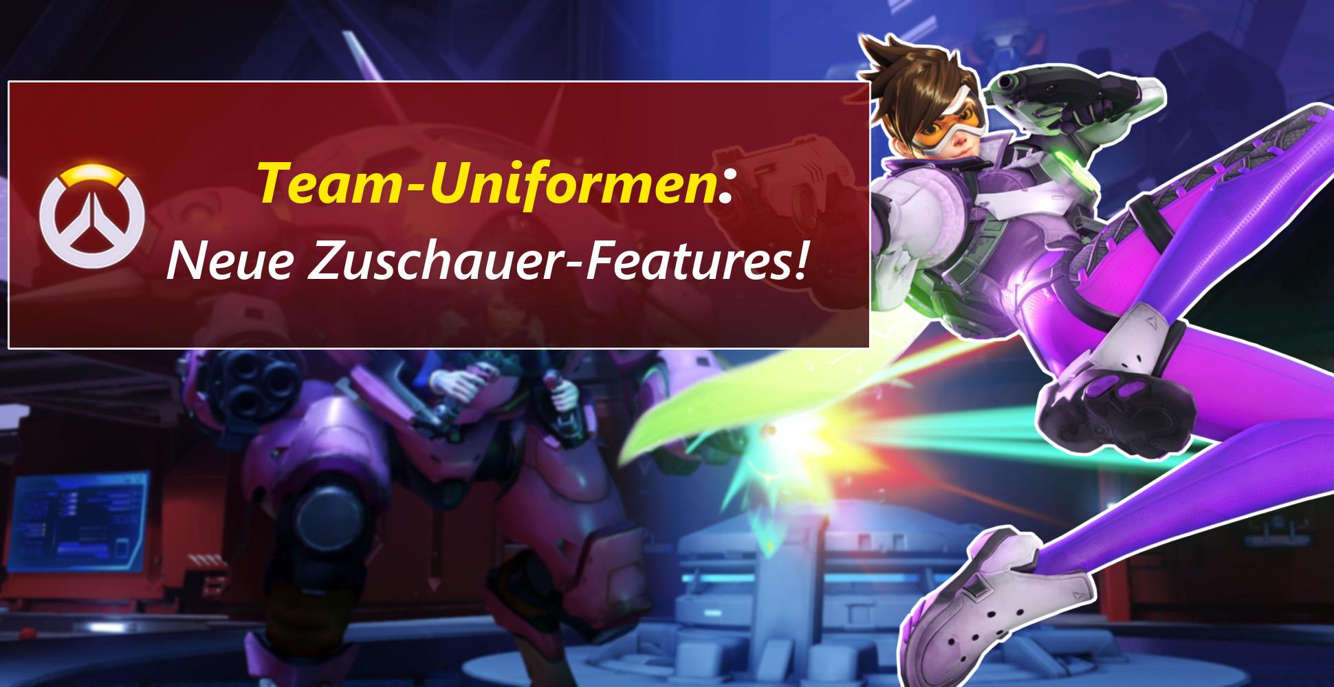 Team-Uniformen und bunte Explosionen – Der neue Zuschauermodus in Overwatch