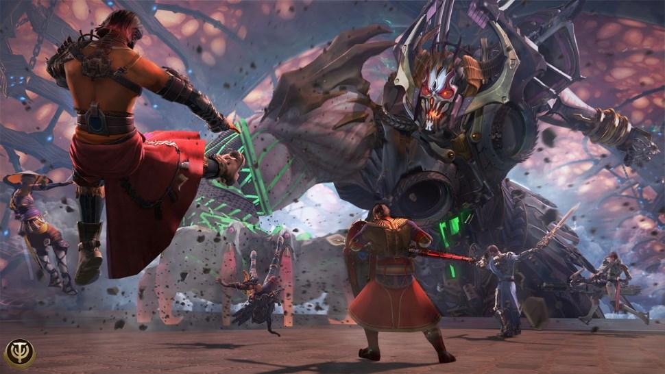 Skyforge Battle Xbox