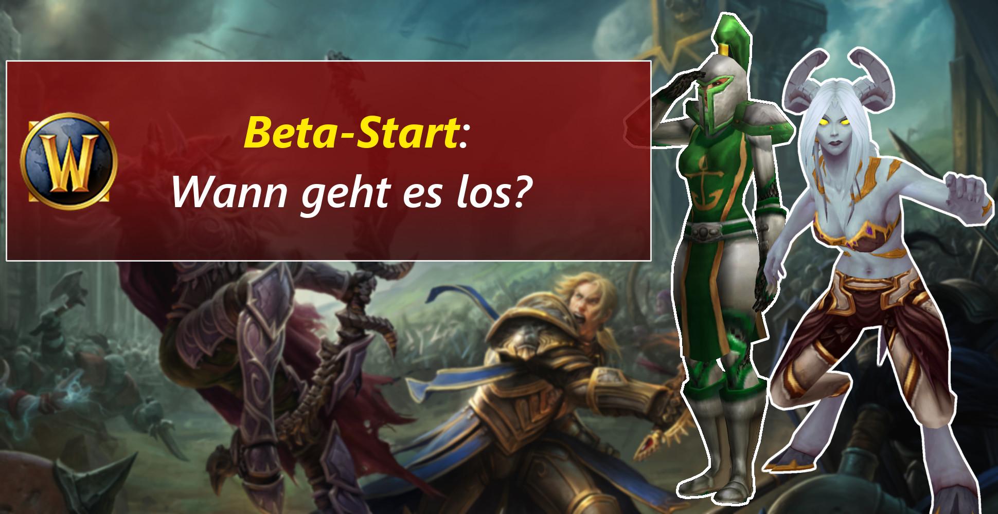 WoW: Wann startet die Beta von Battle for Azeroth?