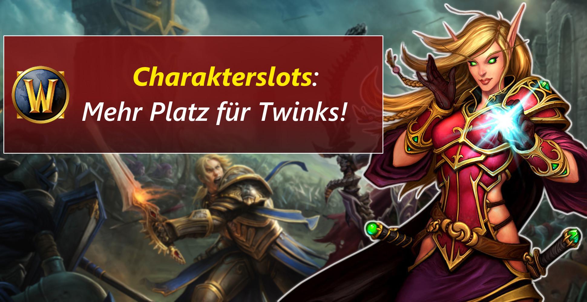 WoW im Twink-Rausch – Battle for Azeroth bringt mehr Charakterslots
