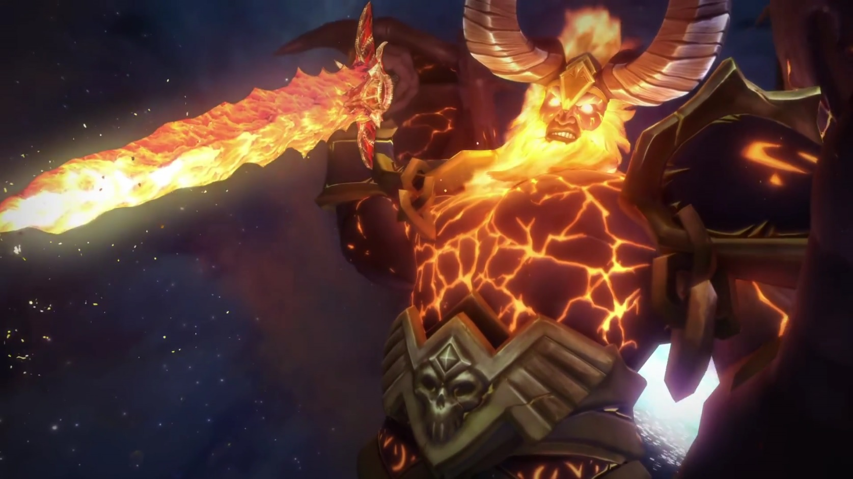 WoW Sargeras Attacks Azeroth