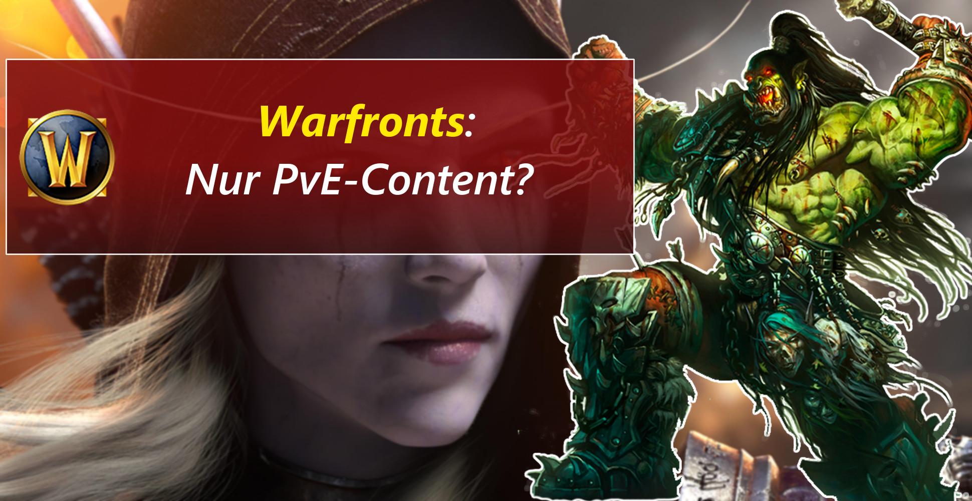 WoW: Was sind Warfronts aus Battle for Azeroth – reines PvE?