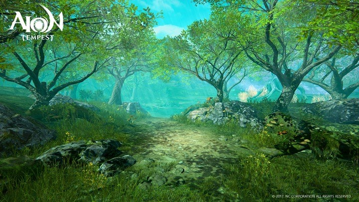 Im neuen Mobile-MMORPG AION Tempest dreht sich alles um Krieg