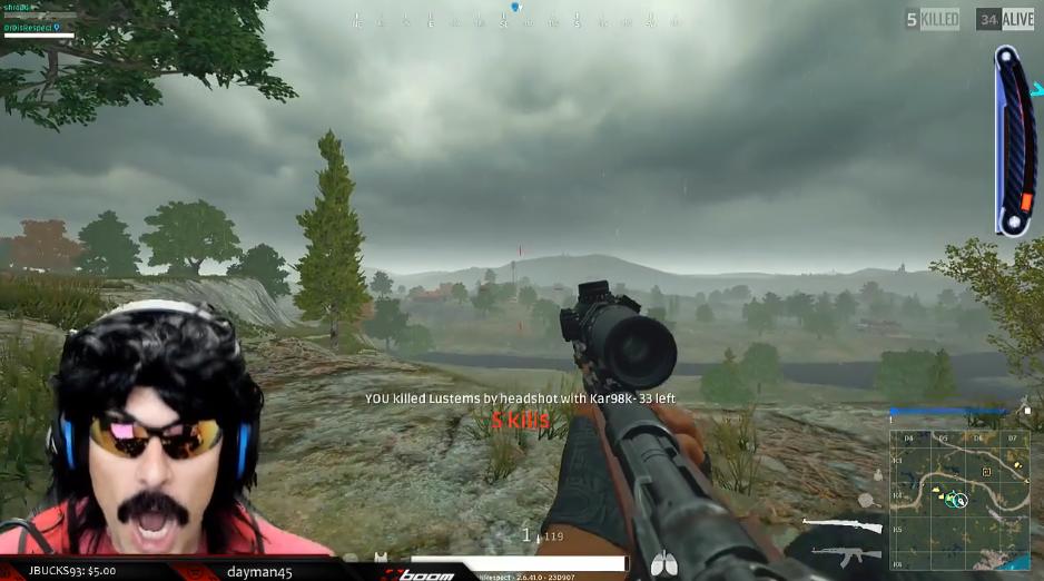 Dieser Schuss in PlayerUnknown's Battlegrounds war 100 Dollar wert!