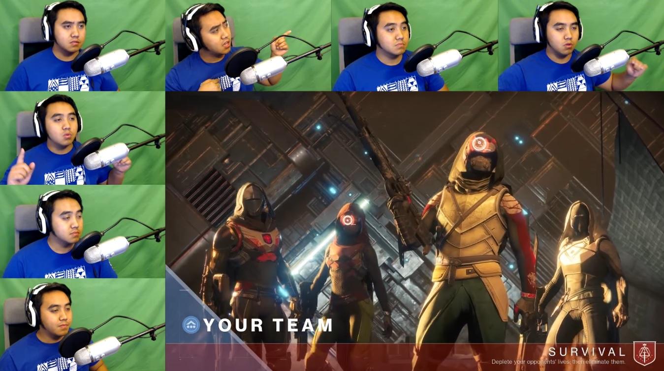 Dieser Typ macht seine eigenen Sounds in Destiny 2 – nur mit seiner Stimme!