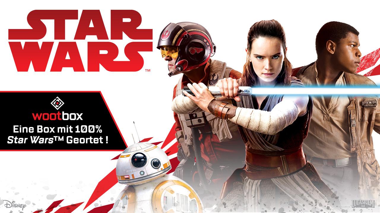 Die Macht ist stark in der Star-Wars-Wootbox im Dezember 2017!