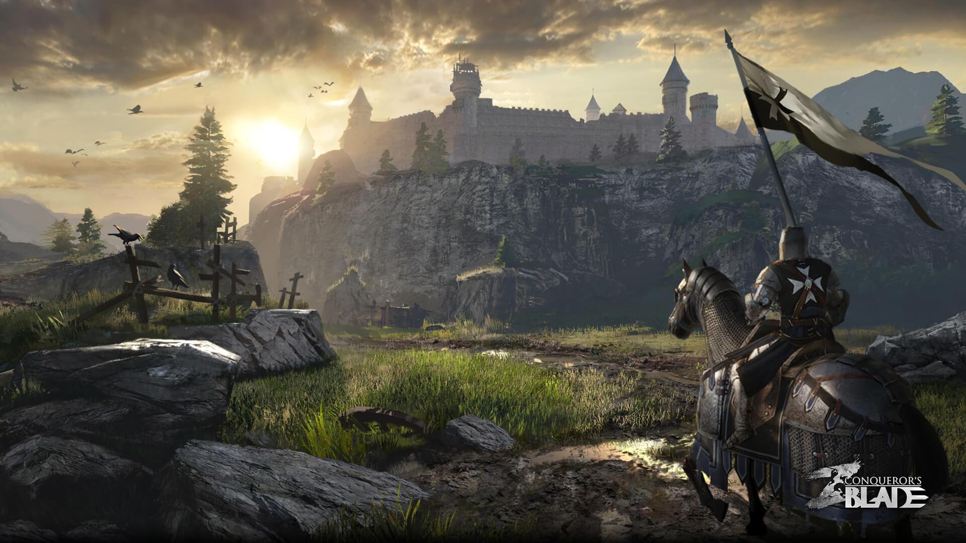Conqueror's Blade ist wie For Honor mit Massenschlachten – Beta-Start