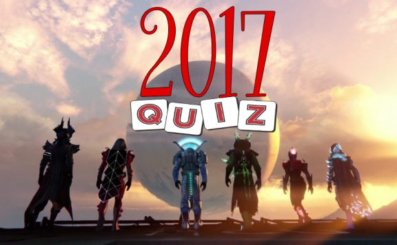 Destiny Quiz 2017 3