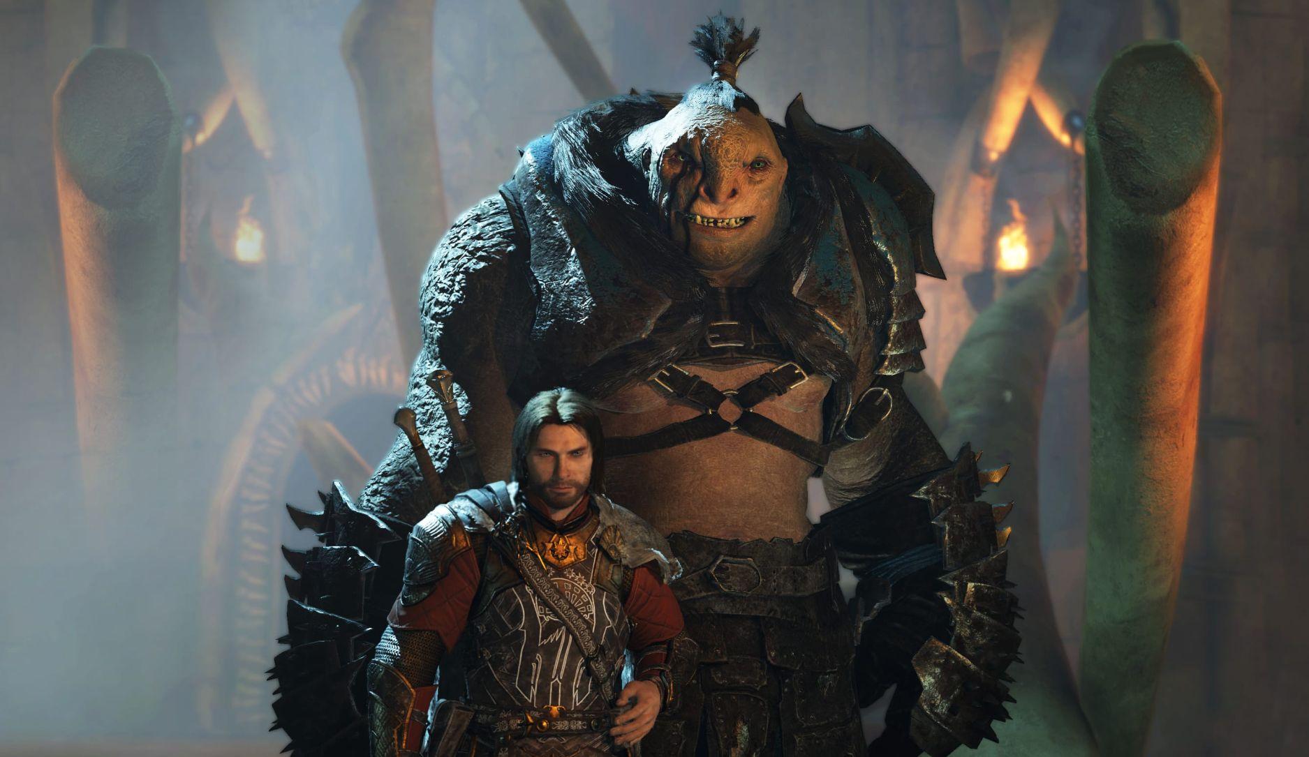 Herr der Ringe Schatten des Krieges Orc Kumpel Bruz