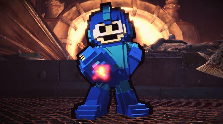 Mega Man kommt zu Monster Hunter World!