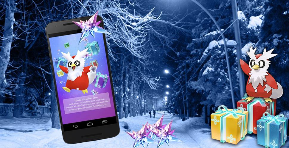 Pokémon GO bestätigt Botogel für Weihnachten 2018