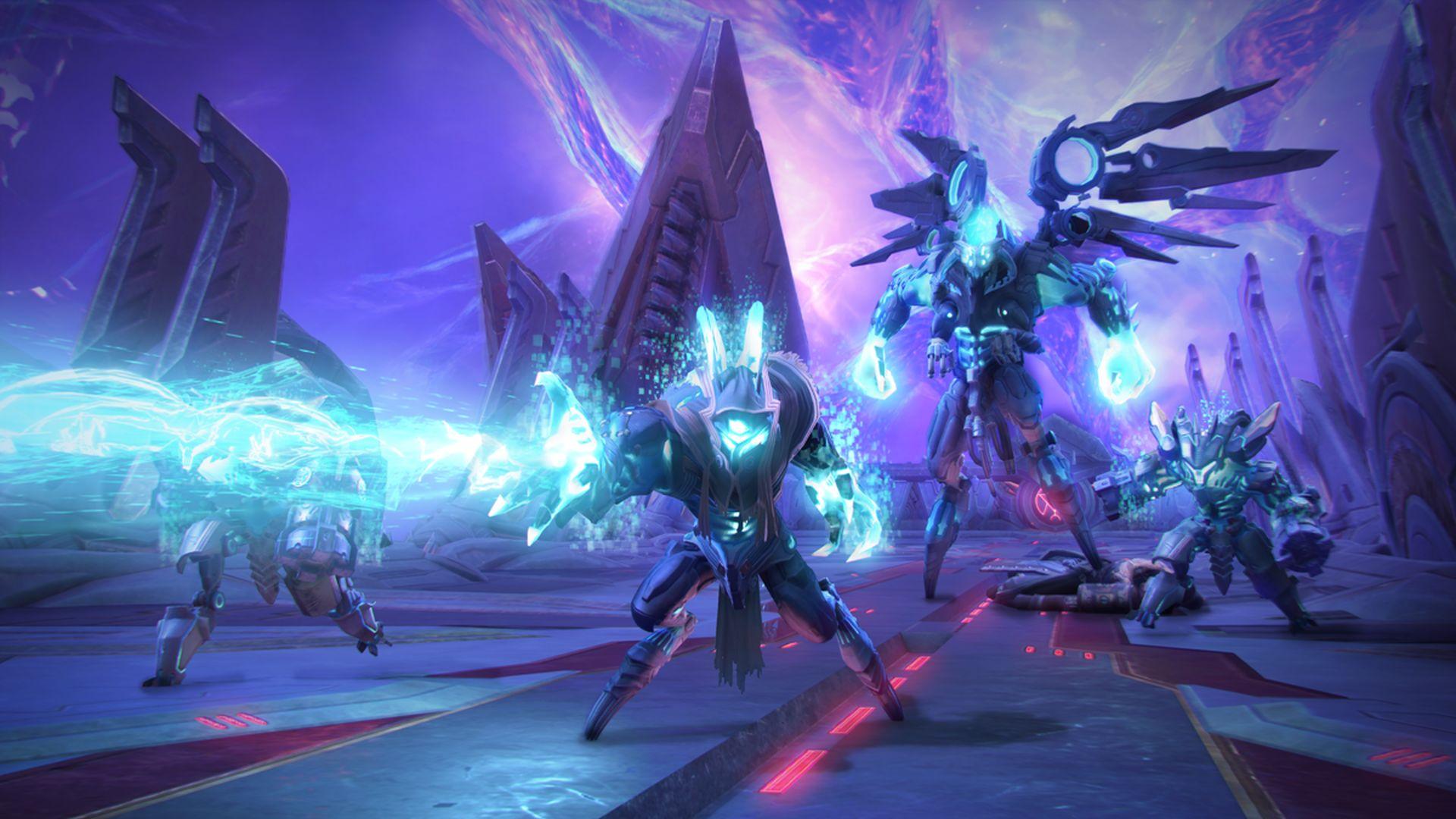 Schaut Euch den neuen PS4-Raid im Action-MMO Skyforge an