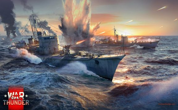 War-Thunder-Schiff-Artwork
