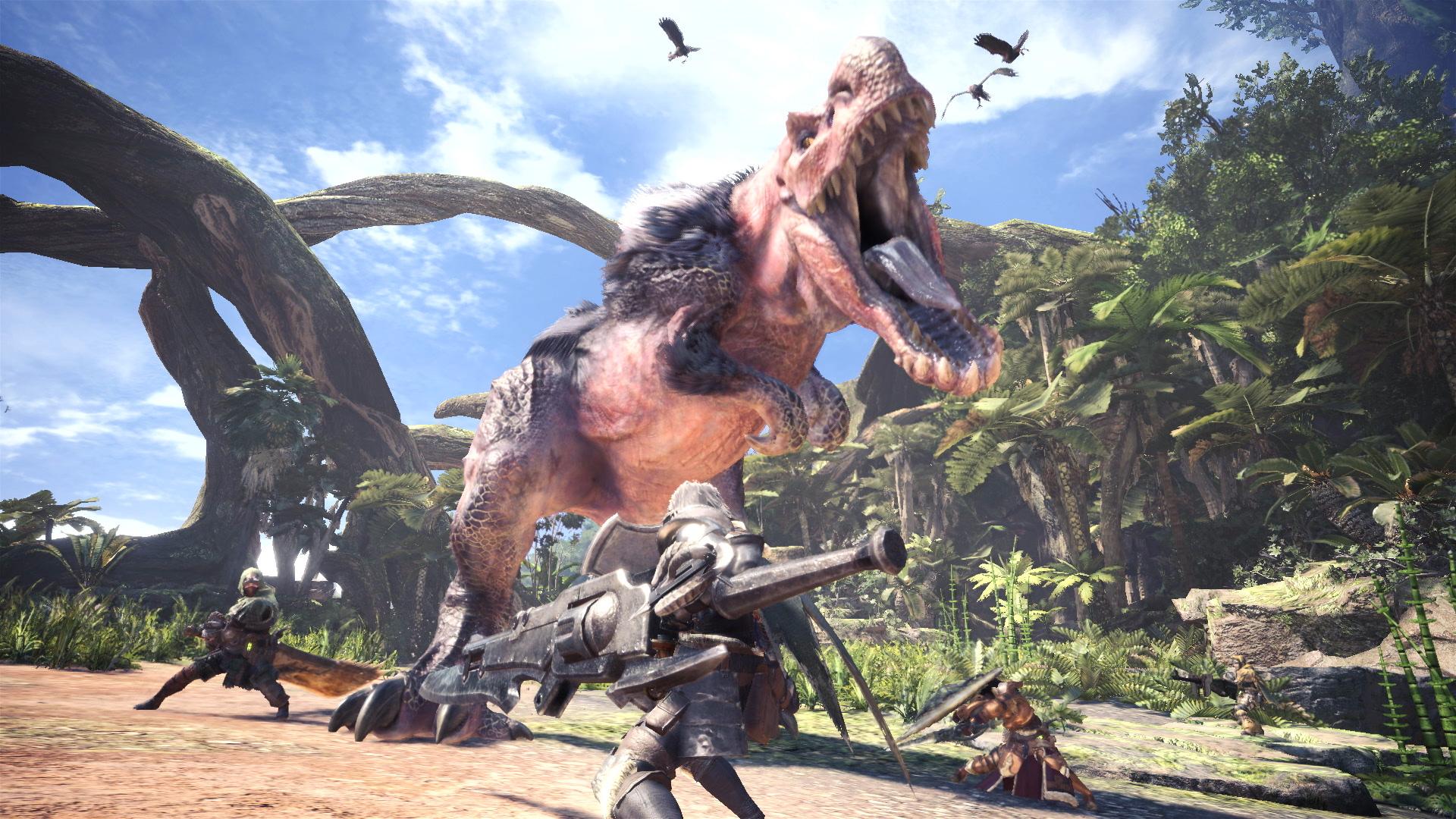 Monster Hunter World PC: Arbeiten starten erst nach Konsolen-Release