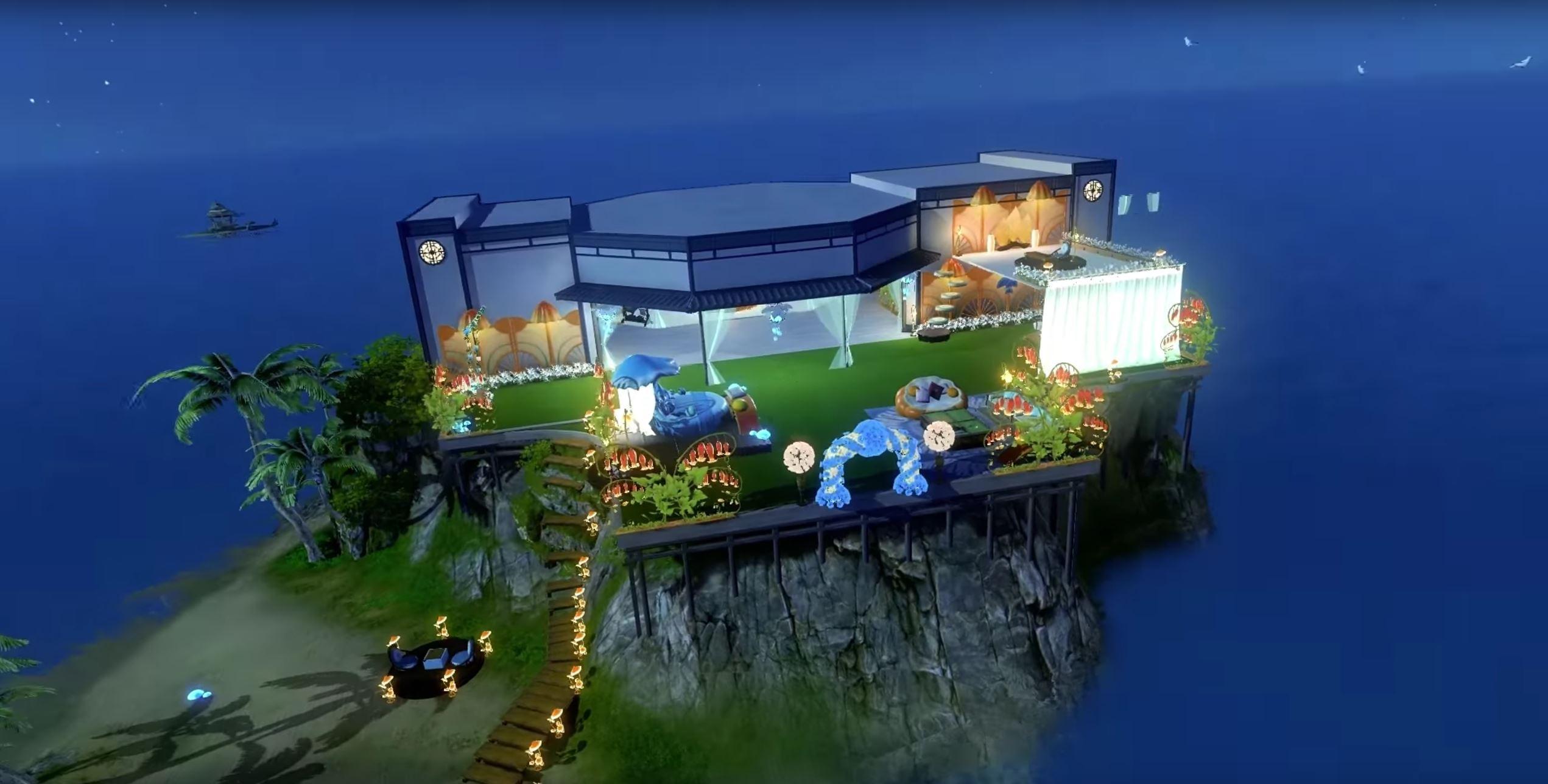 In Revelation Online könnt ihr eine bunte Luxus-Villa kaufen & einrichten
