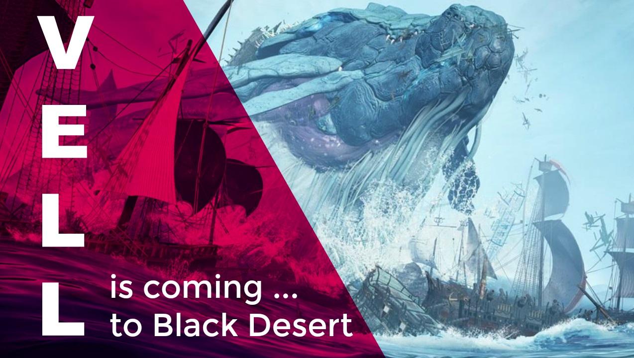 Bei Black Desert taucht Vell auf – Ein Boss-Monster so groß wie eine Stadt
