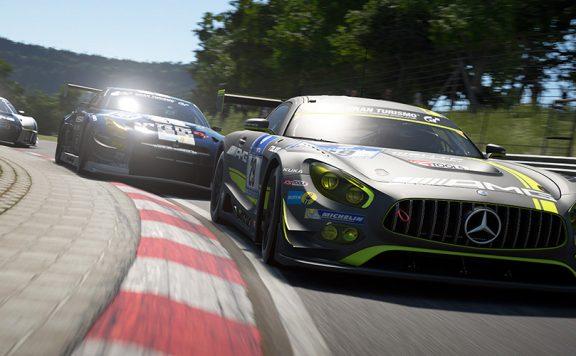 GT Sport Titel Mercedes