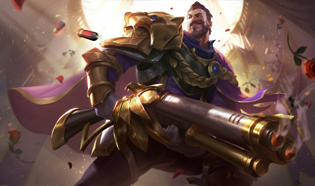 League of Legends victorious Graves
