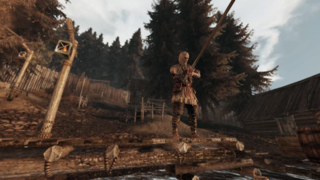 Life is Feudal Anspieltest Angler am See