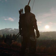 Life is Feudal Anspieltest Jäger im Sonnenuntergang