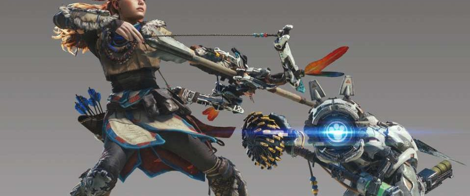 Monster Hunter World: Aloy-Rüstung aus Horizon Zero Dawn bekommen