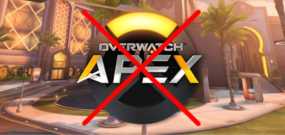 Overwatch Apex Logo Oasis crossed