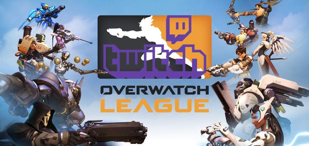 Overwatch League Header Twitch