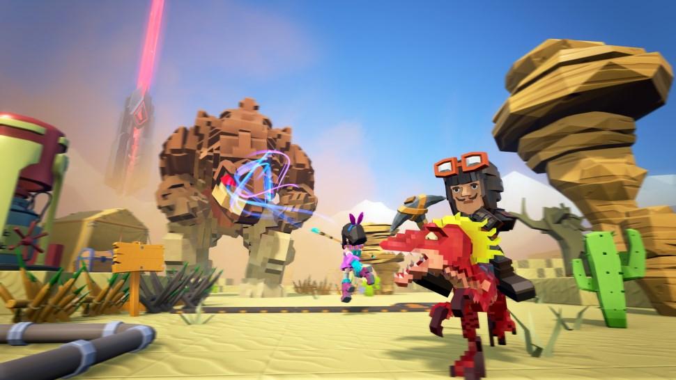 ARK paart sich mit Minecraft und kommt als PixARK im März