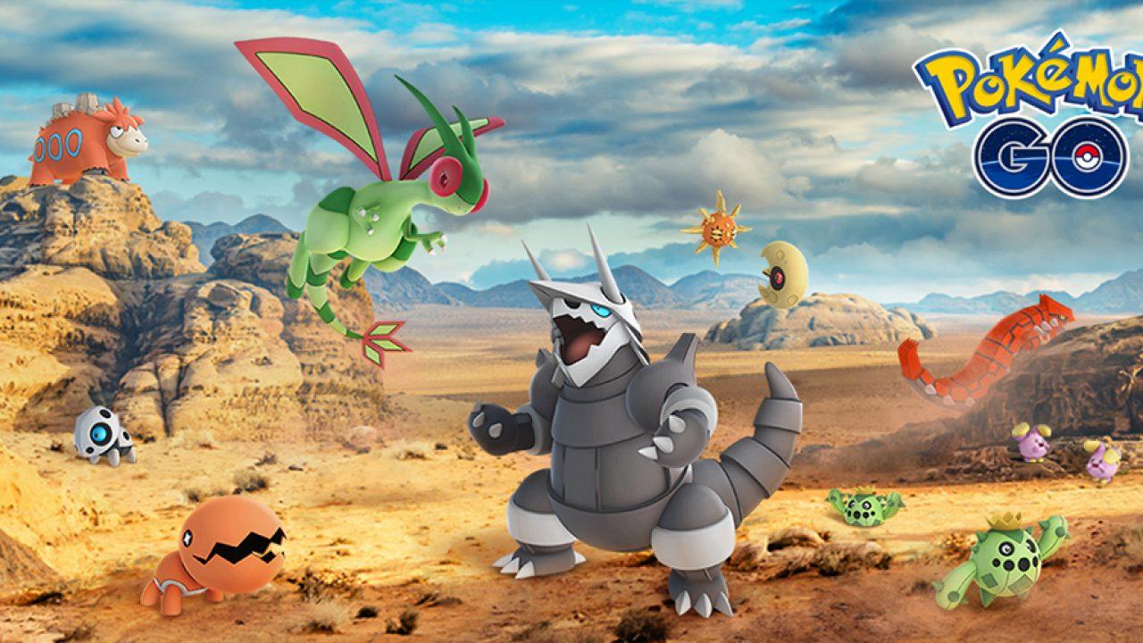 Pokémon GO - Ab heute gibt's 23 weitere Gen-3-Pokémon!
