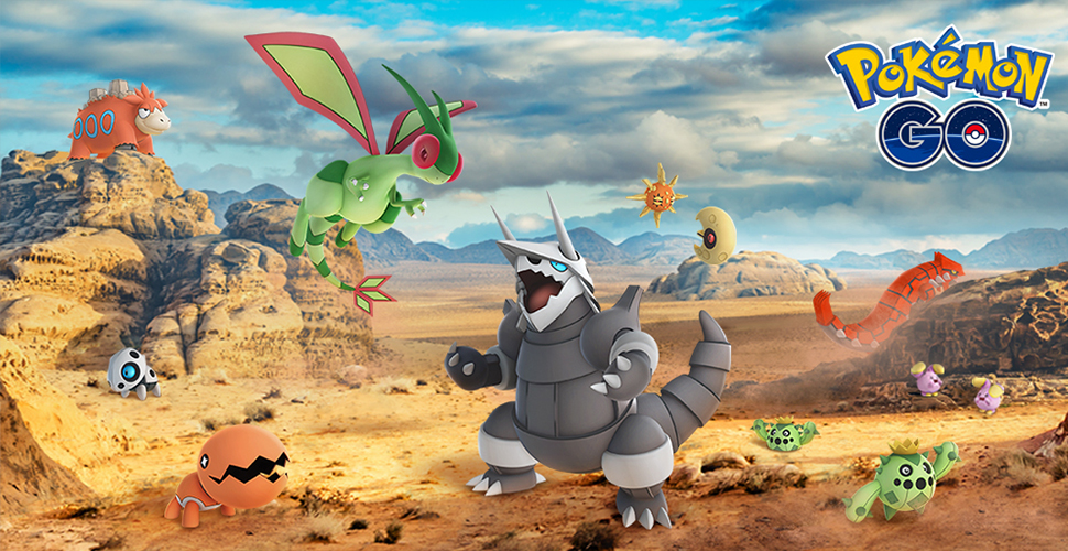 Pokémon GO – Ab heute gibt's 23 weitere Gen-3-Pokémon!