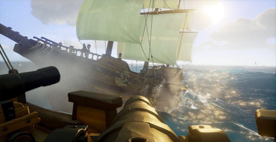 Sea of Thieves schießt einen Mann 60m aus einer Kanone – Weltrekord!