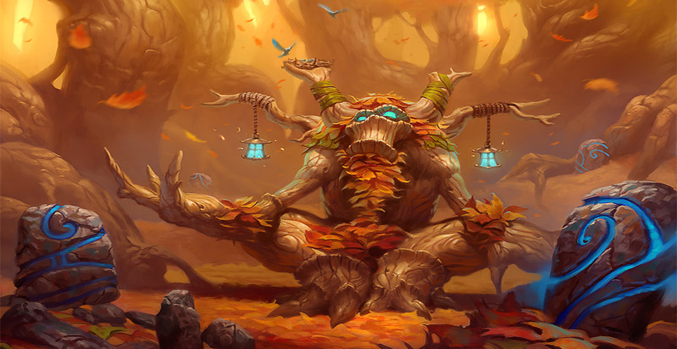 Sieht so aus, als war der Druide mal als neue Klasse in Diablo 3 geplant