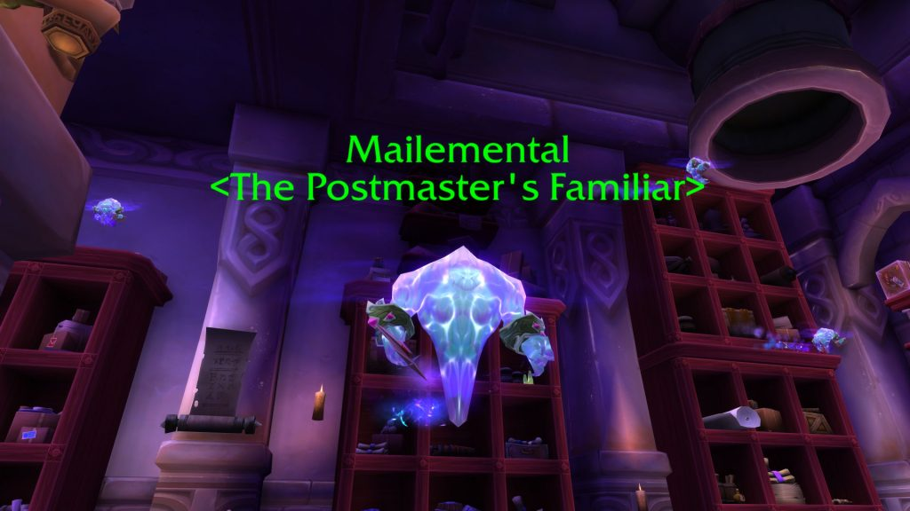 WoW Postmeister Mailemental