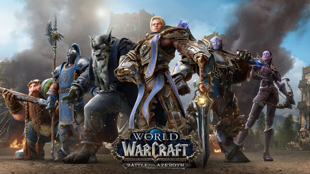 WoW Wallpaper Alliance Heroes Battle for Azeroth