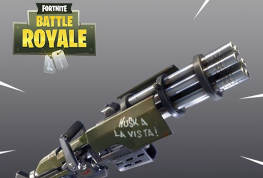 Neuer Patch 2.4.0 kommt zu Fortnite, bringt Miniguns zu Battle Royale