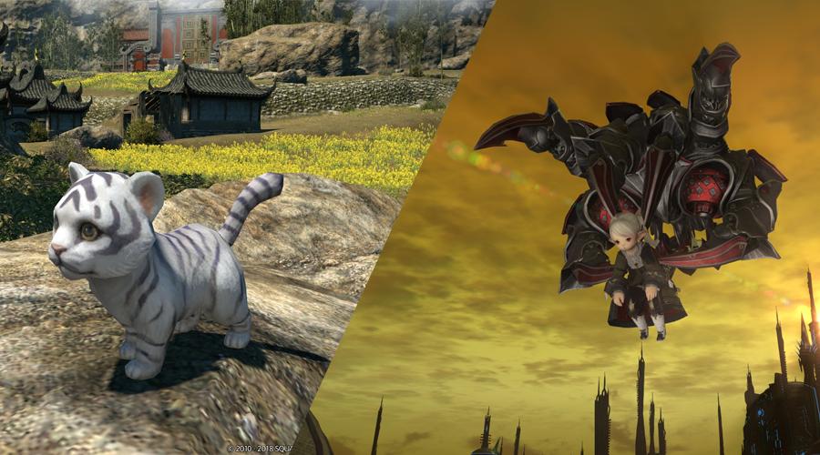 So bekommt ihr die neuen Reittiere und Begleiter in Final Fantasy XIV 4.2