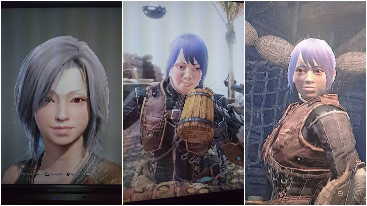 Schön im Monster-Hunter-World-Editor und hässlich im Spiel selbst?