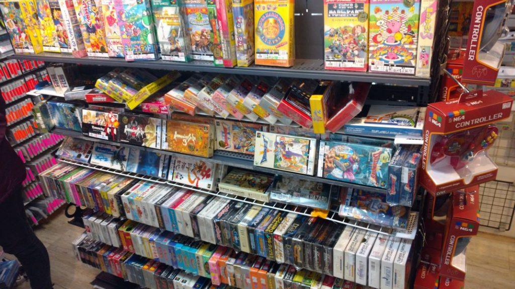 Akihabara Tokyo Japan Retro Store Nintendo Spiele
