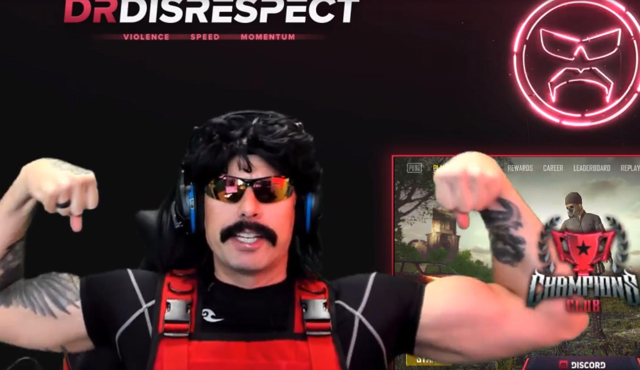 """Dr DisRespect bricht Twitch-Rekord von Tyler1, der nennt ihn """"alter Mann"""""""