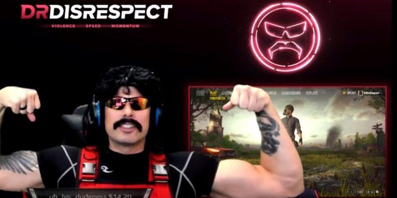 Dr DisRespect kehrt zu Twitch zurück – 390.000 Viewer und Haufen Geld